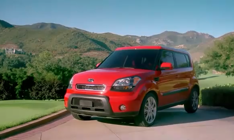 kia soul michelle wie Vdeo: Kia Soul + Michelle Wie = A new way to roll.