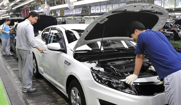 Kia adding optima to production line on georgia plant for Kia motors south korea