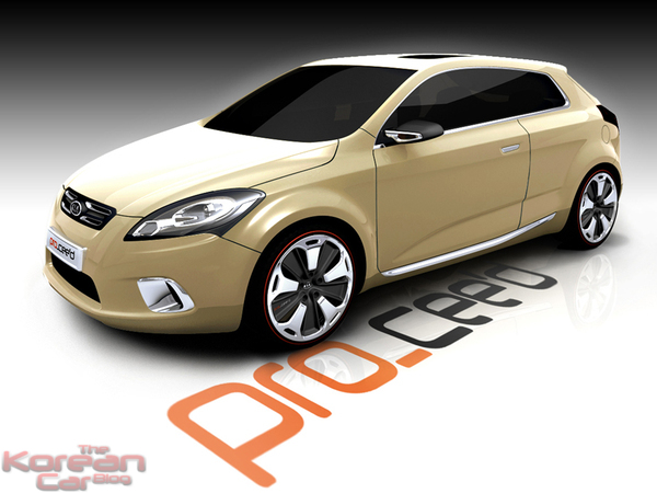 S7 modele kia pro cee d concept More details of the future Kias Golf GTi.