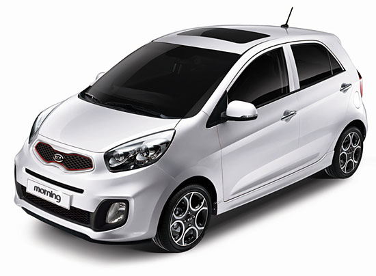 kia morning picanto gti South Korea: Kia Morning shows its GTi look.