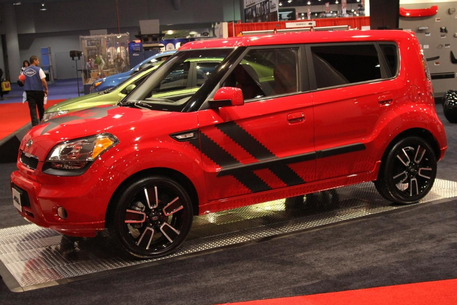 kia soul hamstar sema004 Kia Soul Hamstar edition available into dealer for this spring.