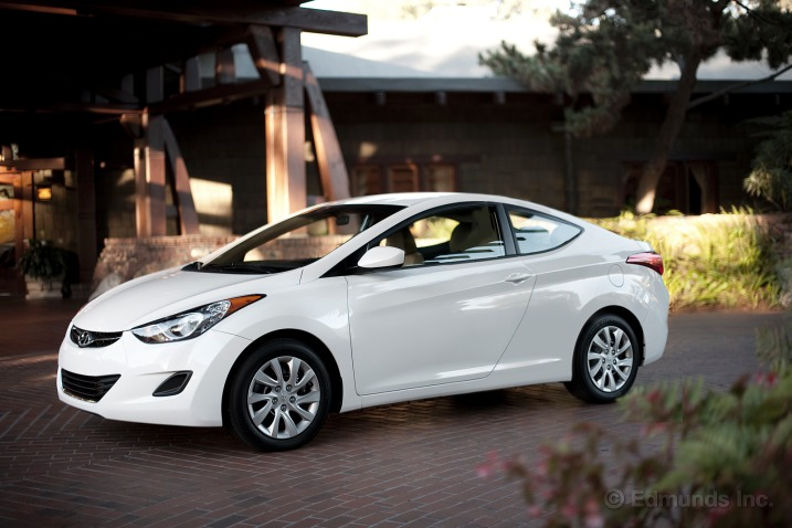 Hyundai Elantra Coupe To Debut At Los Angeles Auto Show