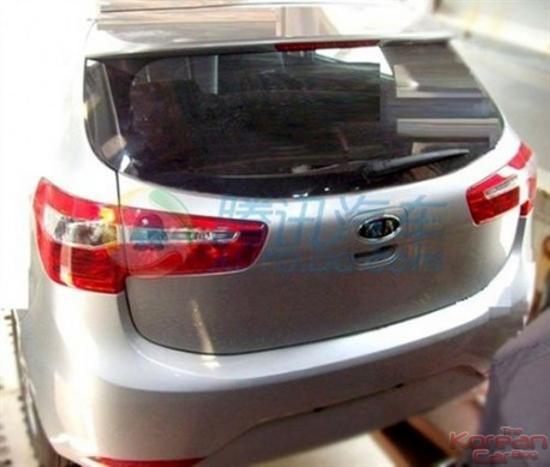 Scooped Kia K2 Hatchback The Korean Car Blog