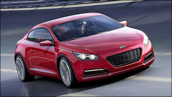 Kia To Unveil V8 Powered Rear Wheel Drive Coupe At