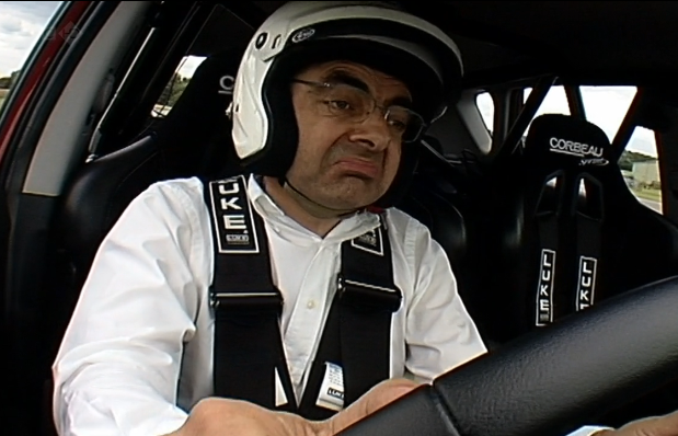 rowan atkinson top gear kia ceed Top Gear: Mr.Bean drives a Kia ceed.