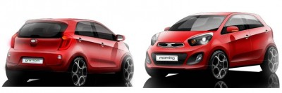 All new Picanto design story 1 400x133 Kia Picanto design story: Exterior.