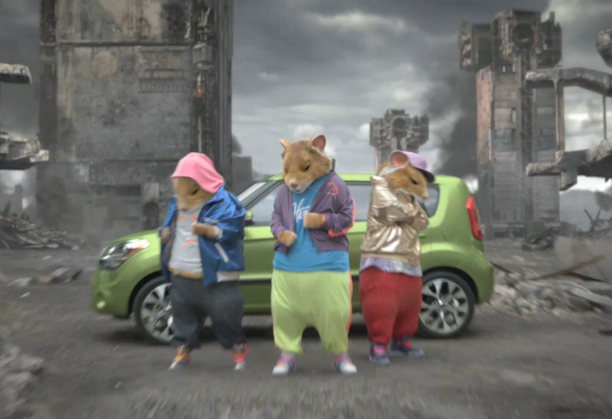kia soul hamsters ad 2012 Kia Hamster Commercial.