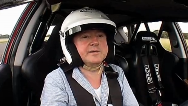 louis walsh drive kia ceed topgear Top Gear: Louis Walsh drives the Kia ceed.