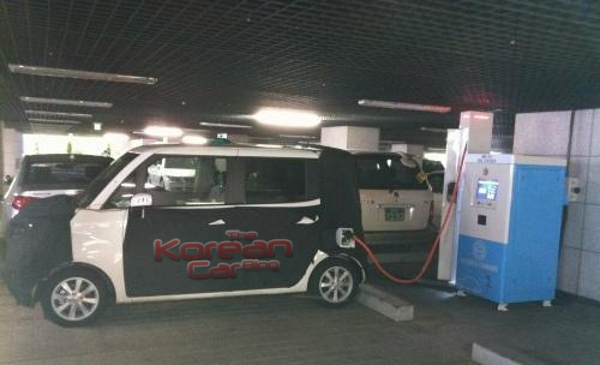 Kia TAM electric Scooped: Kia TAM Electric caught in South Korea.