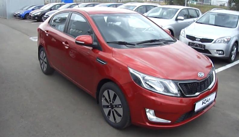 Video 2012 Kia Rio Sedan China And Russia Version