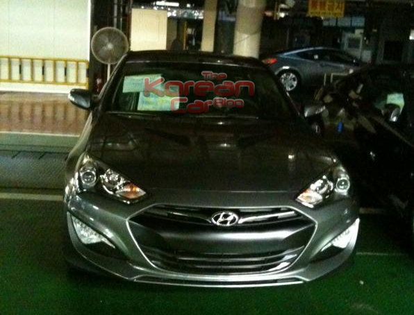8553289884e5af9ce7d4892 2013 Hyundai Genesis Coupe and Kia TAM to debut on November in South Korea.