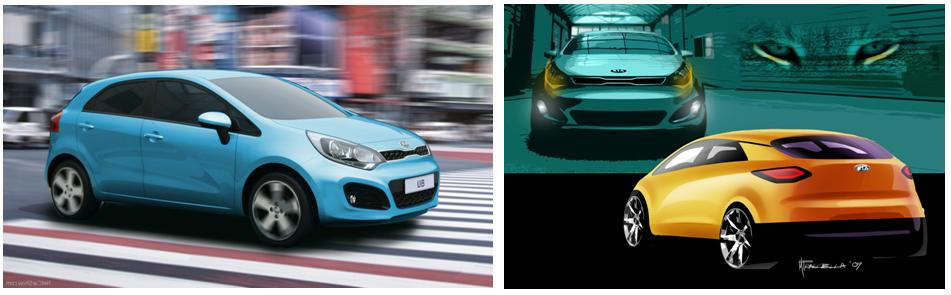 All new Rio design story 1 Kia Rio design story: Exterior.