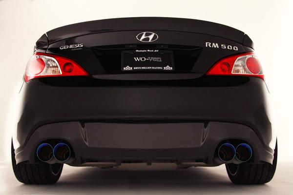 SEMA 2011: Rhys Millen RM500 5.0 TAU V8 Hyundai Genesis Coupe. - The