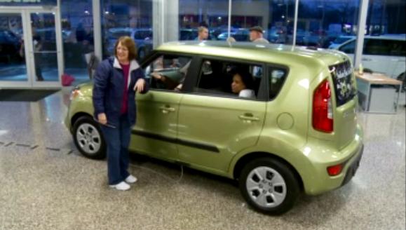 Woman Wins Kia Soul After 3 Weeks in Car  The Korean Car Blog