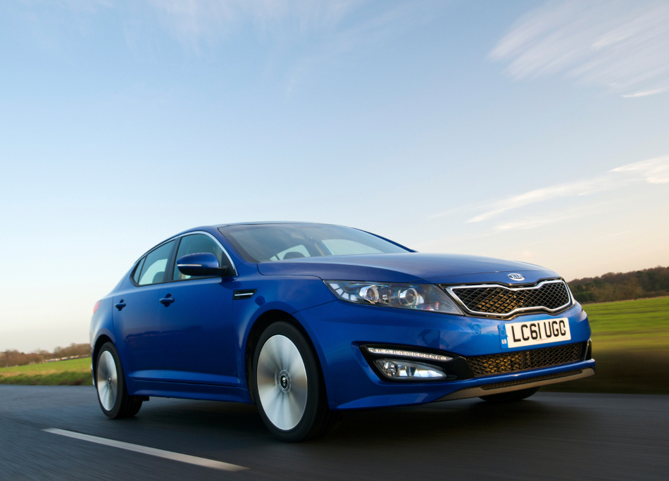 New Kia Optima Kia 29061 UK: 2012 Kia Optima starting at £19,595.