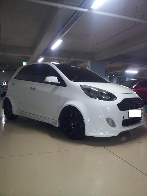 Paintless Dent Repair >> Remodeled Kia Picanto! – Korean Cars