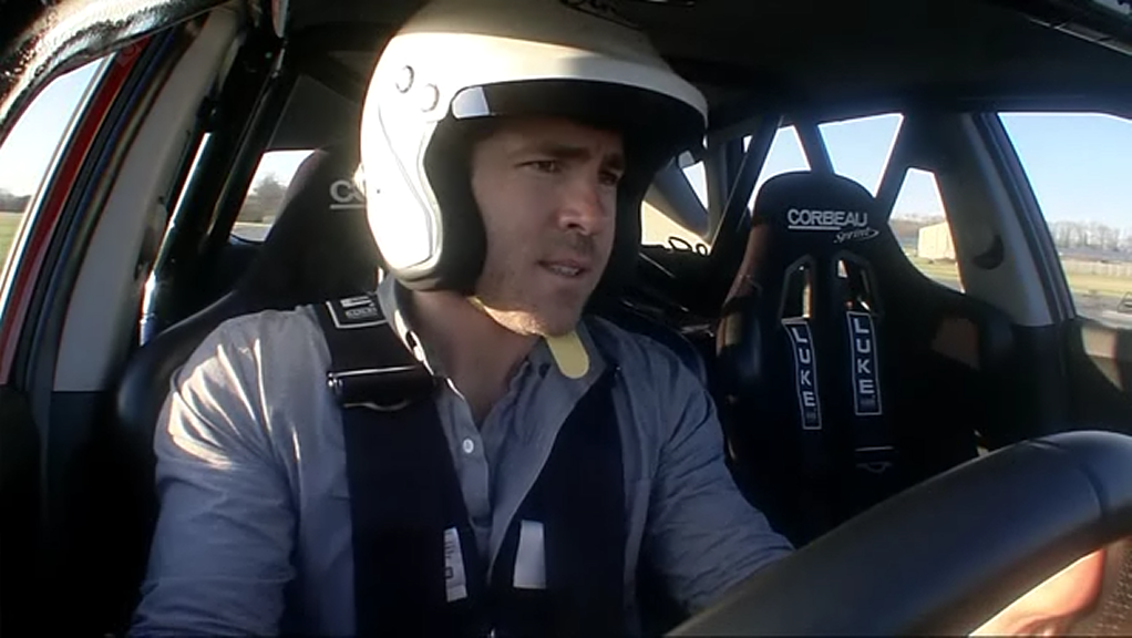 ryan reynolds drive kia ceed top gear Top Gear: Ryan Reynolds drives the Kia cee'd.