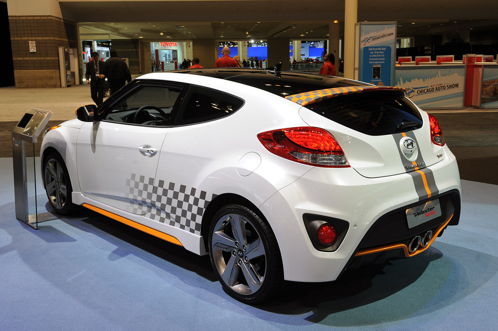 Exterior Design   Hyundai Kia  2013 Hyundai Veloster Turbo At 2012