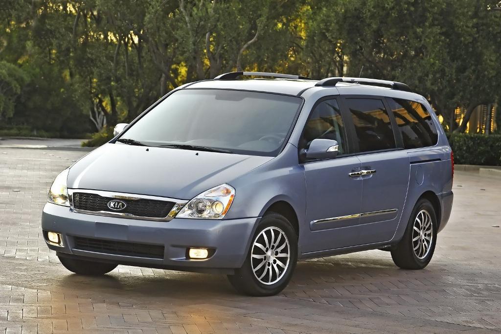 us kia readies new minivan after sedona exits in 2013 the korean car blog. Black Bedroom Furniture Sets. Home Design Ideas