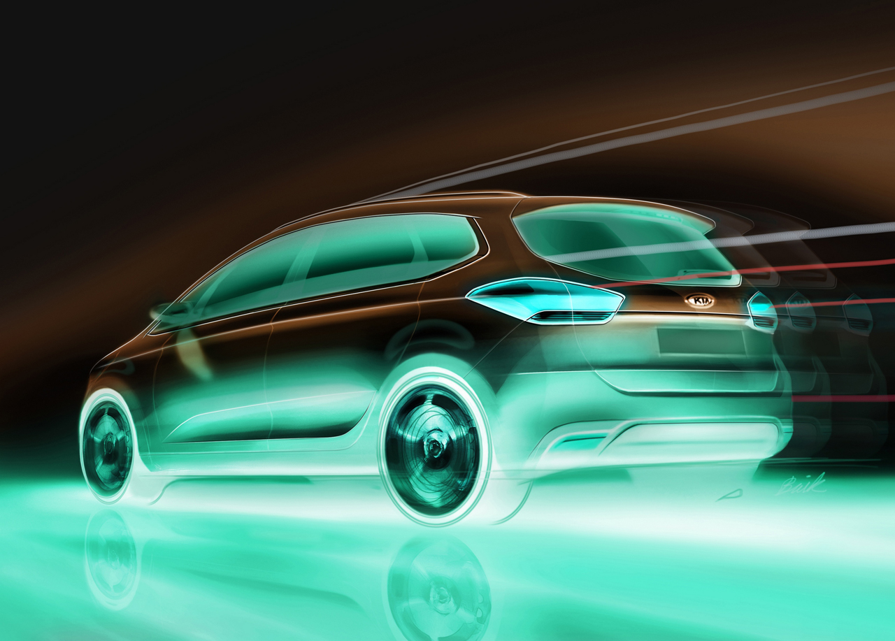 nuevo kia carens iibig New Kia Carens to debut at Paris Motor Show