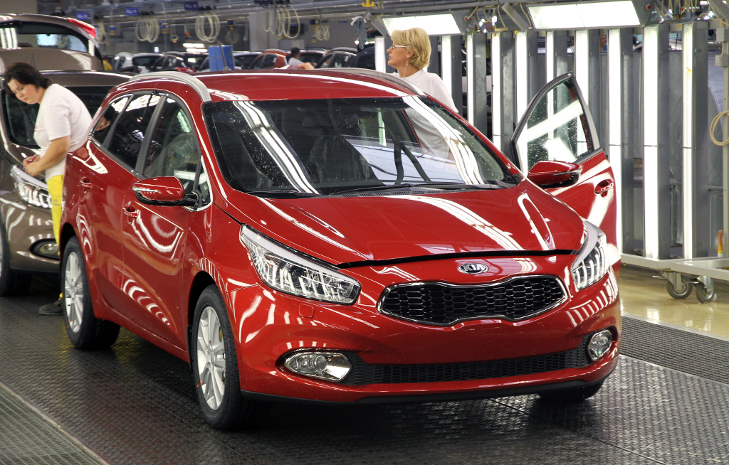 All new Kia ceed Sportswagon starts production at Zilina  Slovakia  factory Kia 34649 Production of all new Kia ceed Sportswagon begins