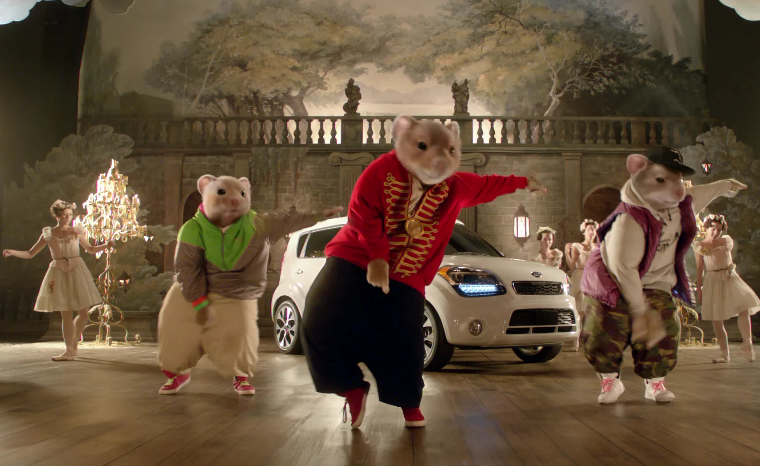 Screenshot from 2012 09 01 141850 Video: The Kia hamsters are back