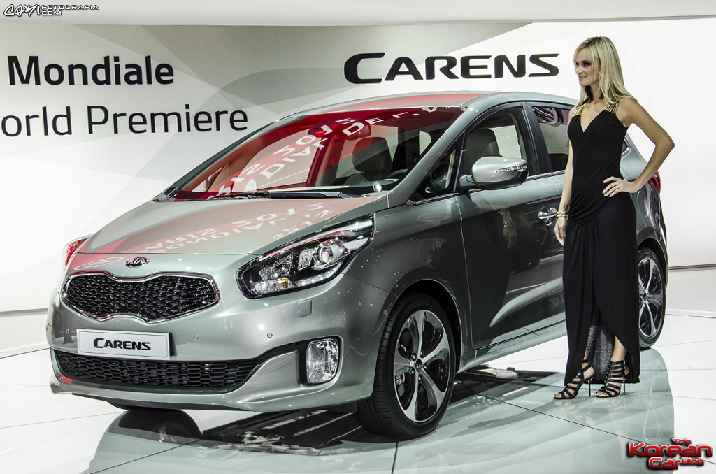 DSC7584 Paris Motor Show: Kia introduces the All New Carens