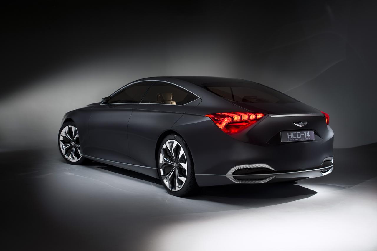 2013 detroit autoshow hyundai hcd 14 genesis concept the korean car blog. Black Bedroom Furniture Sets. Home Design Ideas