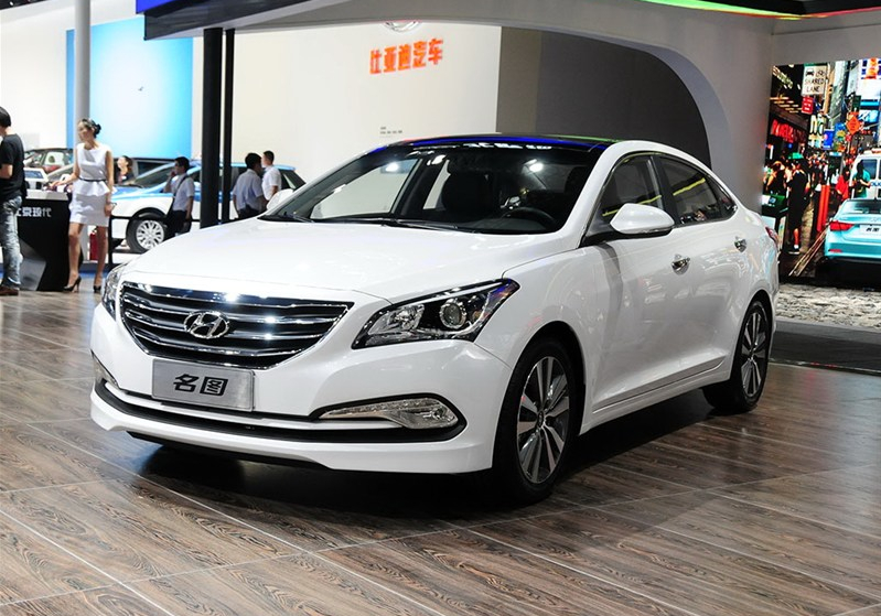 China Hyundai Unveils Production Version Of The Mistra