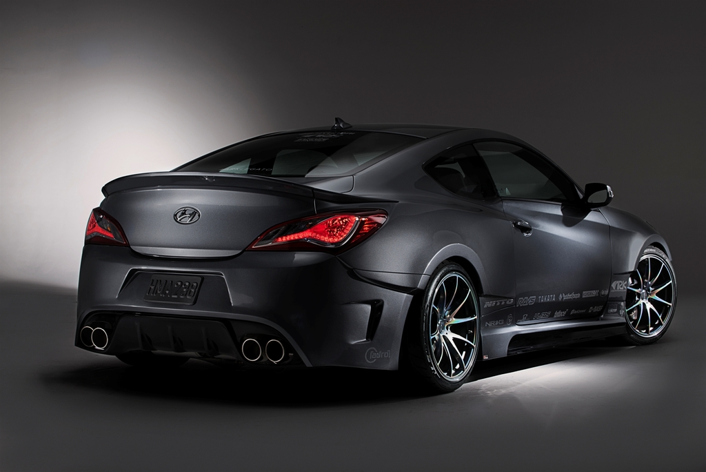 Hyundai ark performance create legato concept genesis coupe the korean car blog - Hyundai genesis coupe motor ...