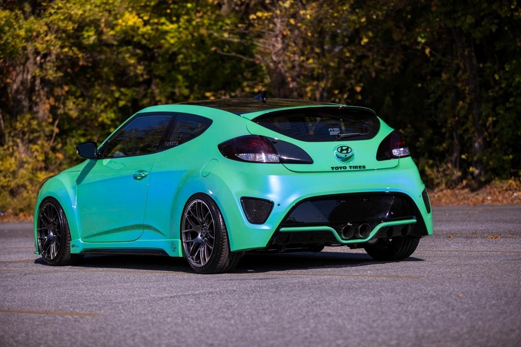 Fox Marketing Veloster Turbo Rounds Out Hyundai Sema