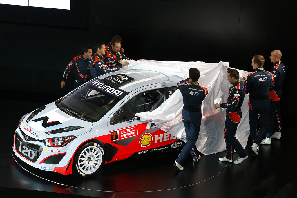 Hyundai Shell World Rally Team Set For Wrc Debut At Rallye