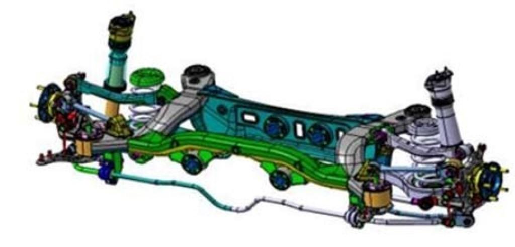 2013 Hyundai Genesis Coupe Rear Suspension Diagram