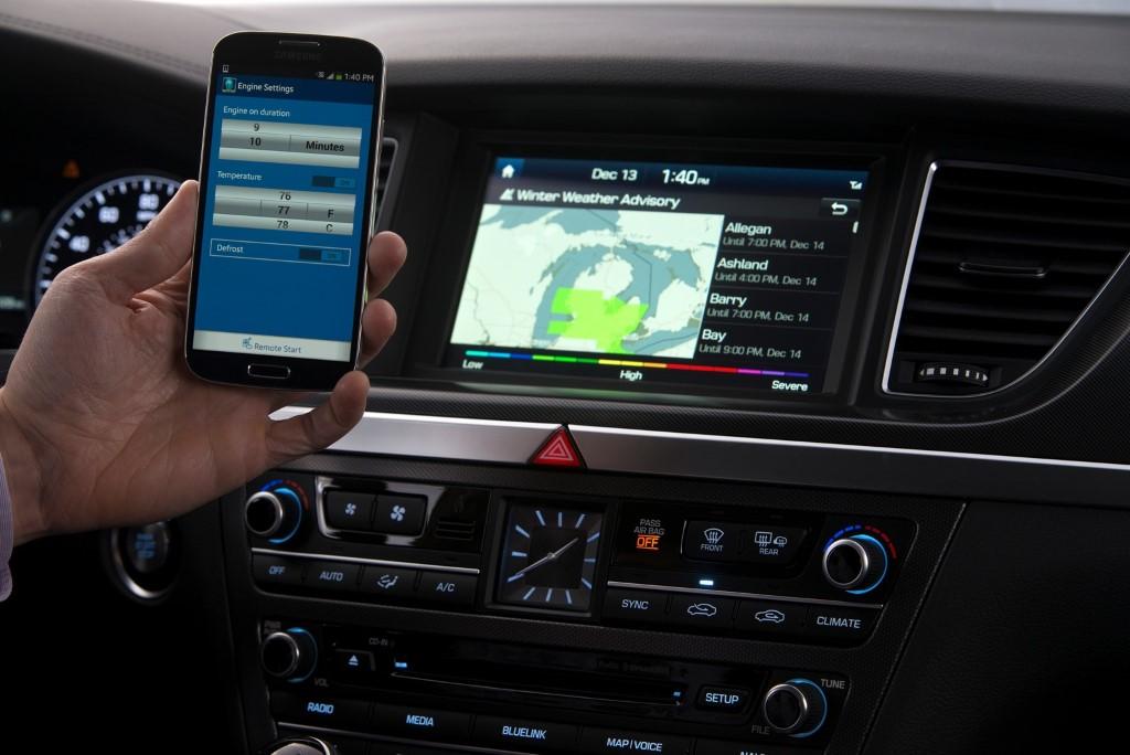 Hyundais Nextgen Blue Link Now Powered By Google And Provides