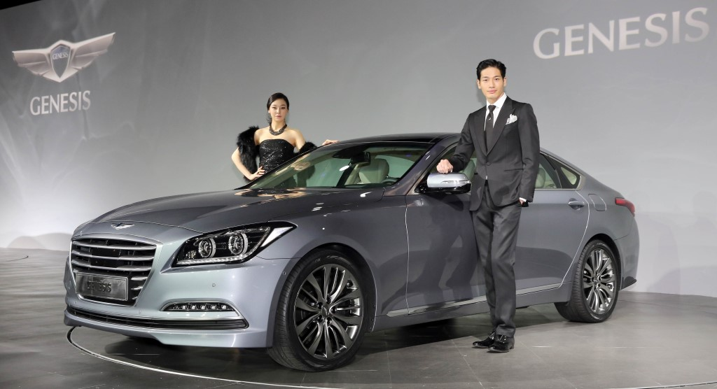 Hyundai To Use Genesis Sedan To Challenge German Premium Cars In