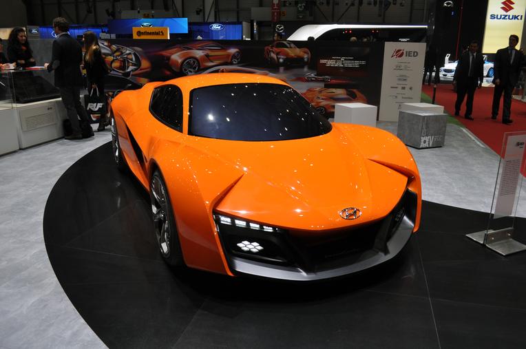 2014 Geneva Motor Show Ied Turin Presents The Hyundai
