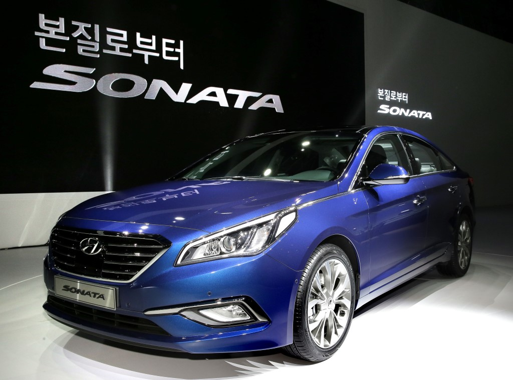 hyundai made world premiere of all new sonata in south korea 160 photos the korean car blog. Black Bedroom Furniture Sets. Home Design Ideas