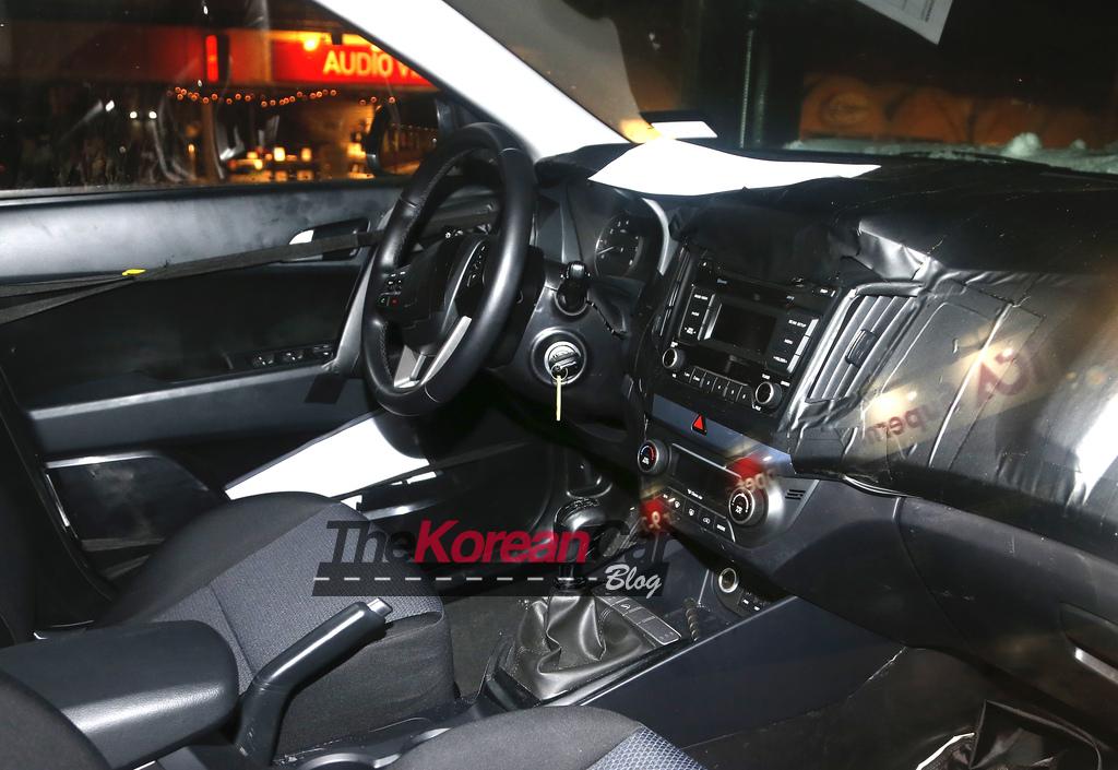 Scooped Hyundai Ix25 B Segment Suv Shows Off Interior In Europe The Korean Car Blog