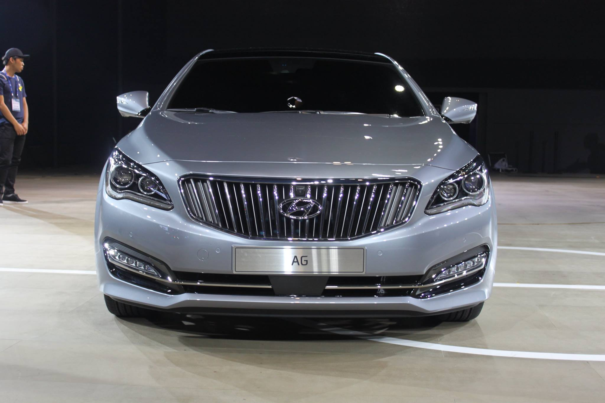 hyundai ag new luxury sedan 1   the korean car blog