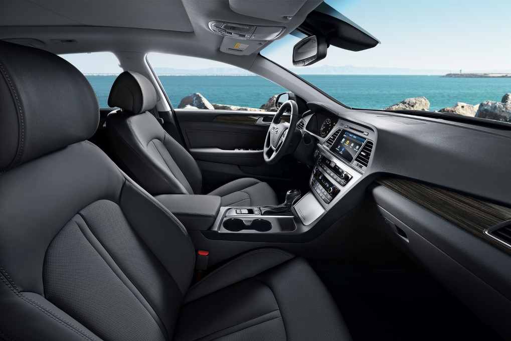 2015 Hyundai Sonata Interior The Korean Car Blog