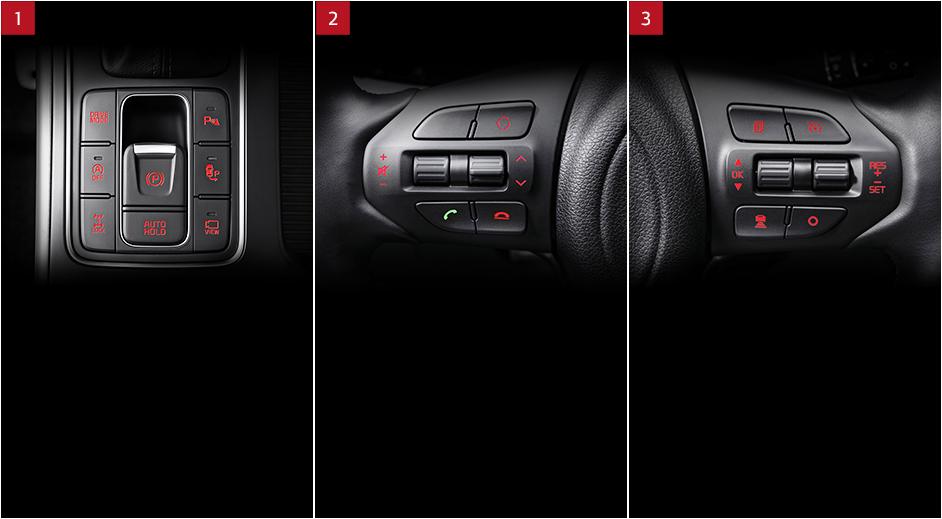 Kia Sorento Interior Electronic Parking Brake And Auto