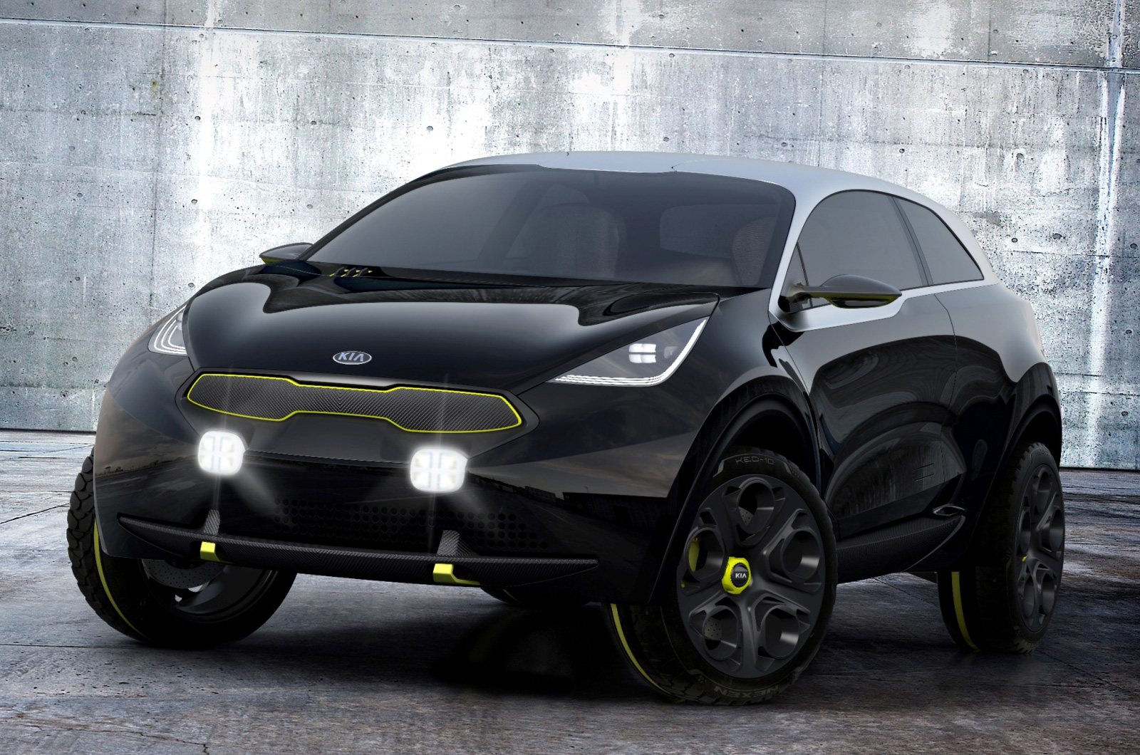 exclusive kia working on a dedicated hybrid small suv. Black Bedroom Furniture Sets. Home Design Ideas