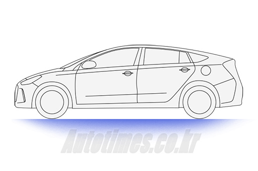 Hyundai Prius Killer Sketched in South Korea