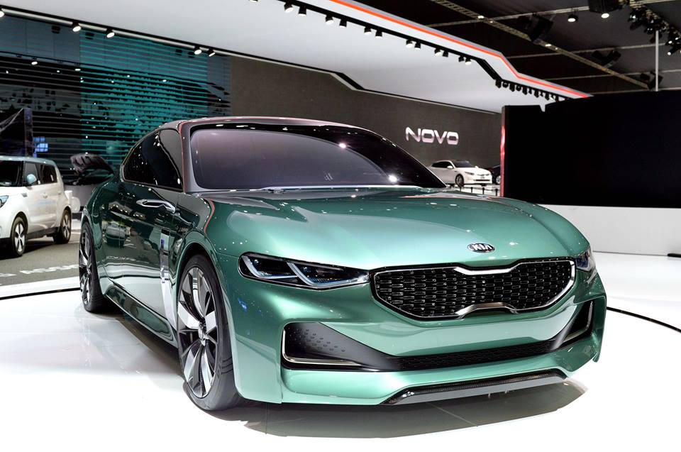 Kia Novo Concept Revealed In Seoul The Korean Car Blog