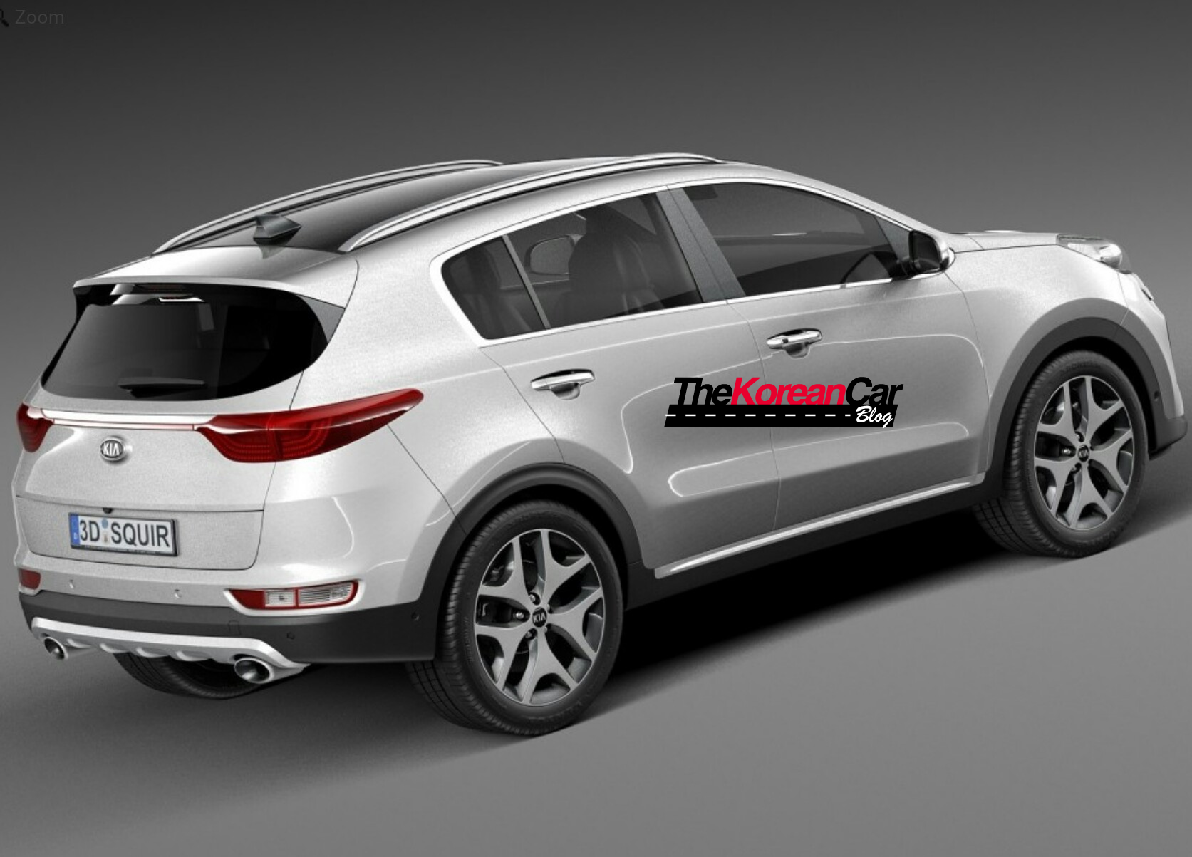 2016 kia sportage leaked in 3d 3 the korean car blog. Black Bedroom Furniture Sets. Home Design Ideas