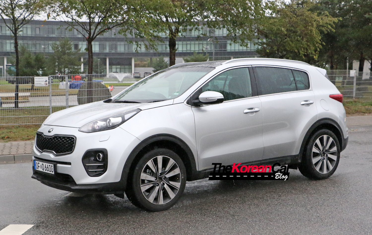 Real Life Pictures Of 2016 Kia Sportage