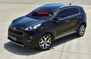 2016 kia sportage first official spy shots (2)