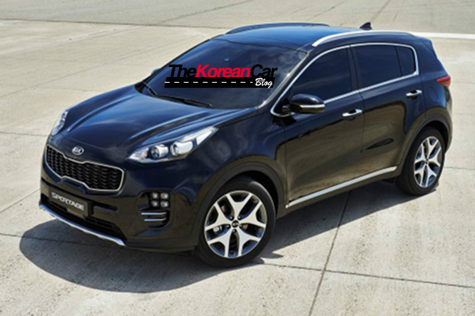 new kia sportage official pictures leaked the korean car blog. Black Bedroom Furniture Sets. Home Design Ideas