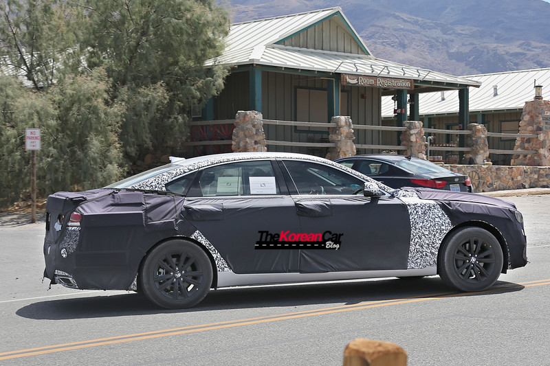 2018 hyundai genesis sedan. exellent 2018 hyundai genesis sedan turbo spied for the first time 3 to 2018 hyundai genesis sedan