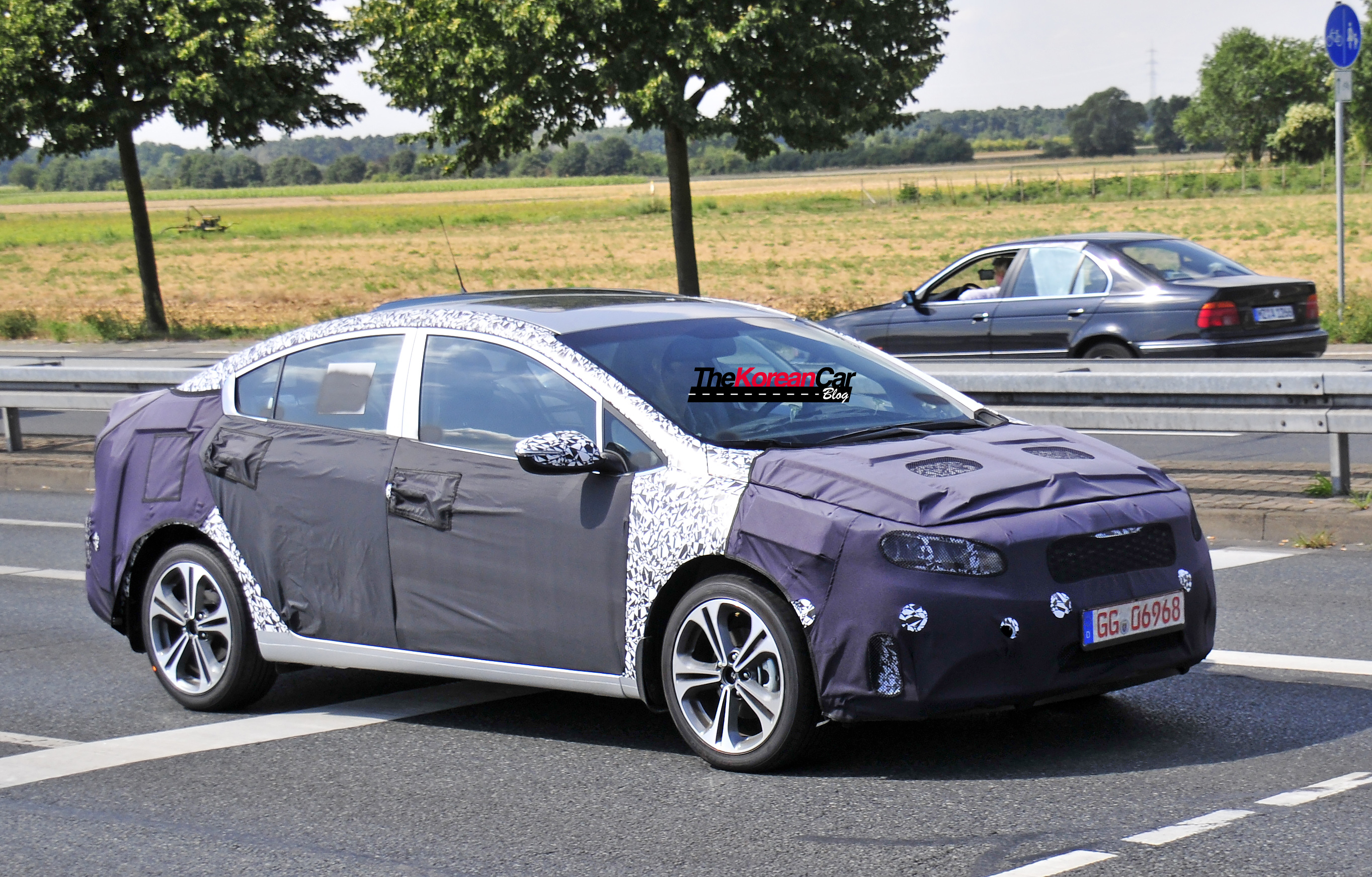 Kia Forte Facelift Spotted In Europe The Korean Car Blog